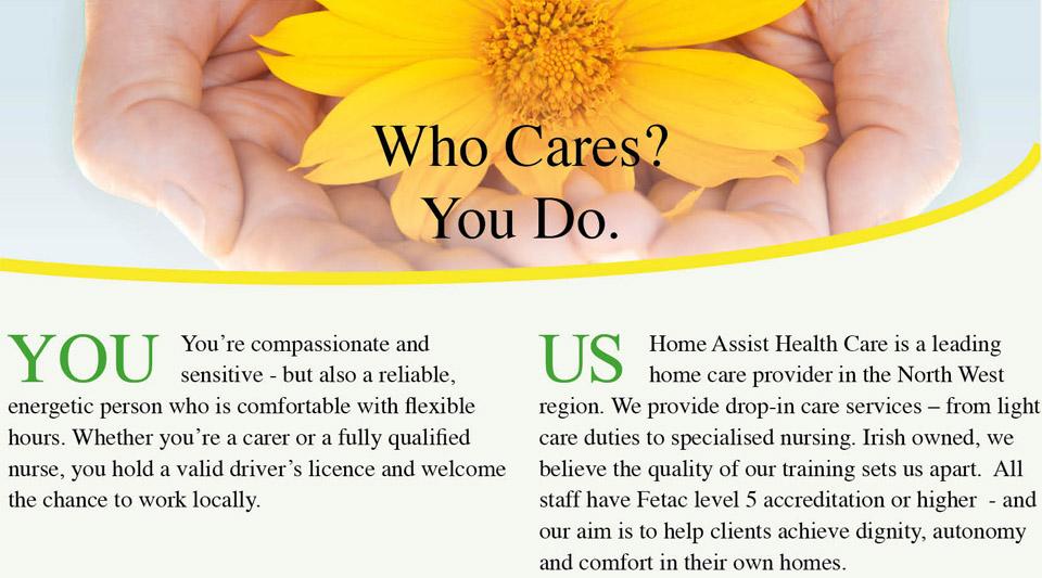 Home Assist Recruitment